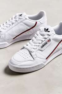 Adidas Continental 80 White Trainers 55 Urban Outfitters Free