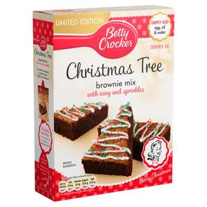 Betty Crocker Betty Crocker Christmas Tree Brownie Mix 565g (Pack of 6)(Pack of 1) @ Amazon £10 Prime £14.49 Non Prime