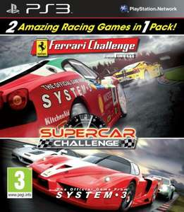 Ferrari challenge & supercar challenge double pack for PS3 at GAME online for £4.99, listed as new