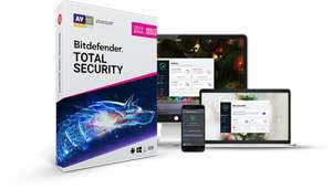 Bitdefender Total Security 2019 - 6 months free