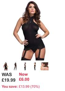 Body stocking now £6 at LoveHoney in the up to 70% off clearance sale more examples in post