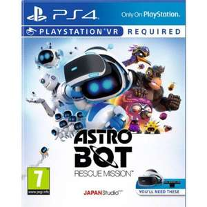 ASTRO BOT RESCUE MISSION PlayStation Vr PSVR £19.95 delivered @ The Game collection