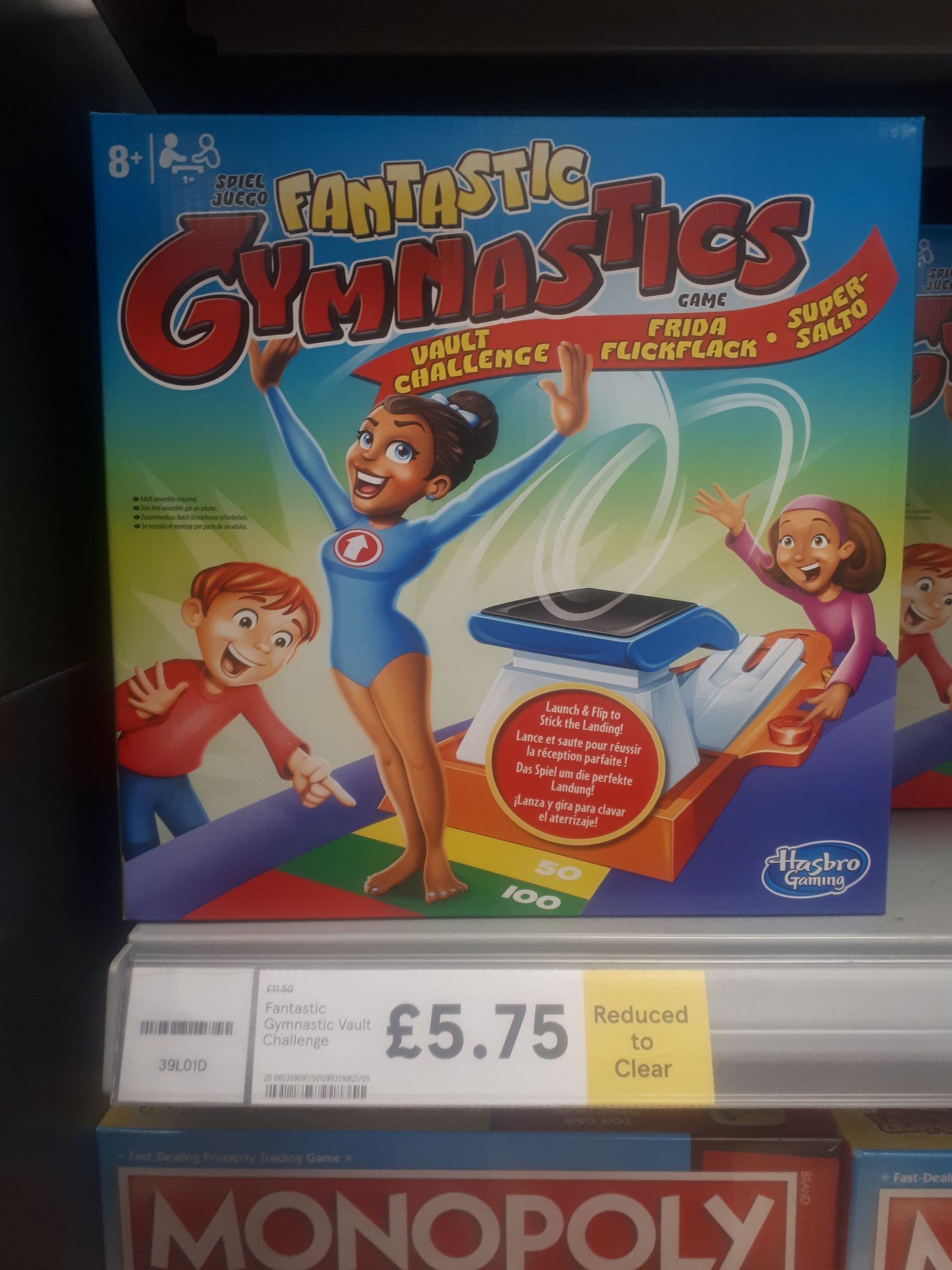 Hasbro Fantastic Gymnastics Game - £5.75 instore @ Tesco Roborough Plymouth