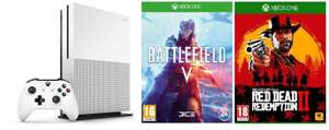 Xbox One S 1TB with Battlefield V + Red Dead Redemption 2 £209.97 delivered @ ebuyer