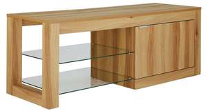 Hygena Cubic TV Unit - Oak Effect - £47.49 @ Argos (free C&C)