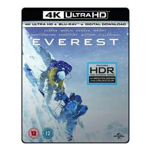 Everest 4K UHD Blu-ray for £4.99 @ Shop4World