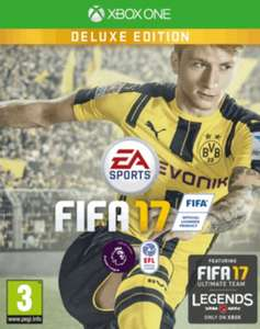 FIFA 17 Deluxe Edition (Xbox One) 99p Instore or £1.99 delivered @ GAME