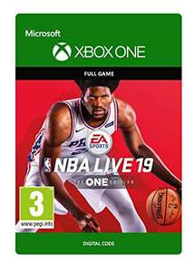 NBA LIVE 19 Xbox One £8.75 Download Code from Amazon UK