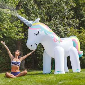 Giant Unicorn Sprinkler (was £59.99) now £29.99 / £33.98 delivered at Find Me A Gift