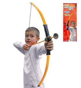 Petron Fun Archery Set Orange With Suction Cup Arrows for £5.99 Delivered (More in OP) @ TGAGS