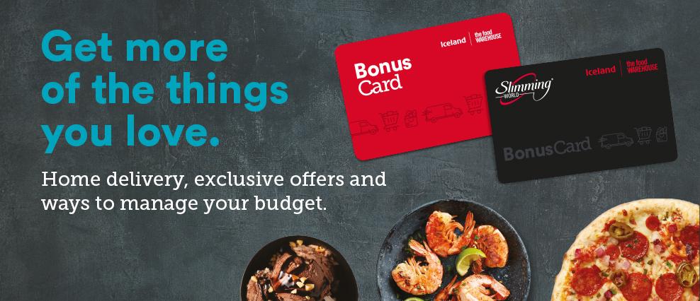 Free pizza & dessert with Iceland bonus card (email invite)