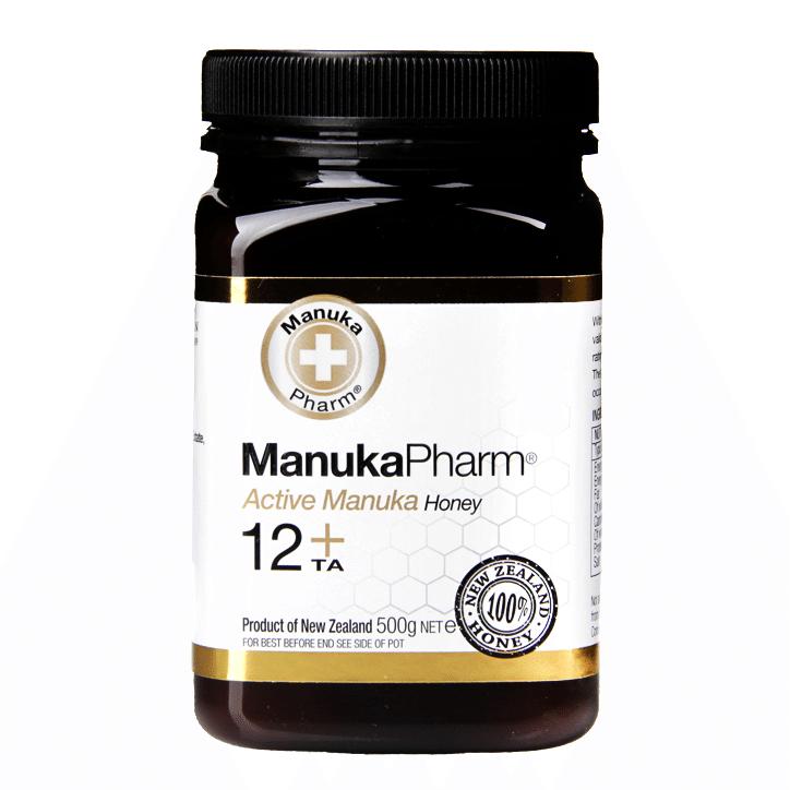 Manuka Pharm Active Manuka Honey 12+ 500g £9.49 @ Holland & Barrett + 95p c&c / £2.99 del
