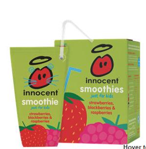 innocent Kids smoothies 4 x180ml  £1.50 @ Asda