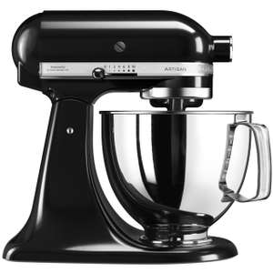KitchenAid Artisan 5KSM125BOB Stand Mixer with 4.8L stainless steel bowl & 5 year guarantee in black £289 delivered @ AO
