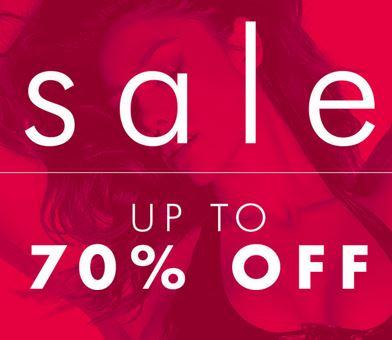 70% off sale online @ Ann Summers