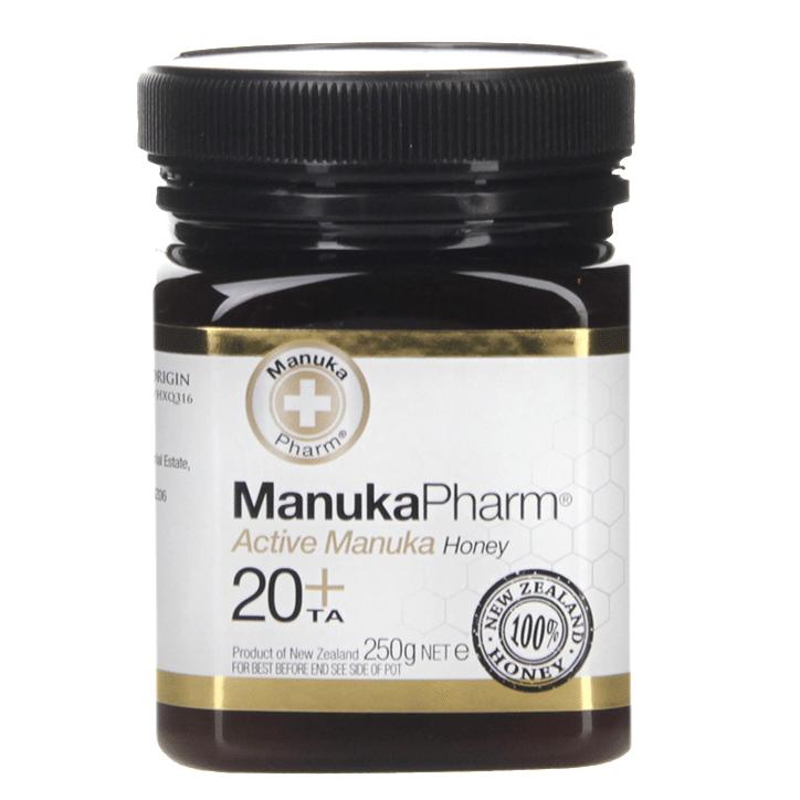 Manuka Pharm Active Manuka Honey 20+ 250g £7.74 @ Holland & Barrett + 95p c&c / £2.99 del