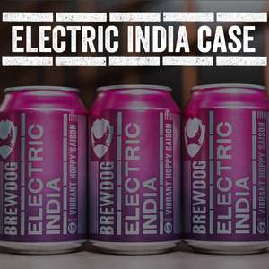 BrewDog Electic India case - 24 cans with free delivery £24 @ Brewdog