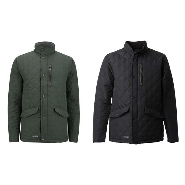 Men's Trespass  Argyle Quilted Jacket Olive / Black  £34.98 delivered @ MandM Direct