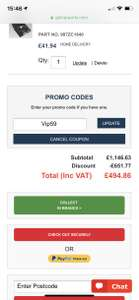 59% off site wide with voucher code @ GSF Car Parts