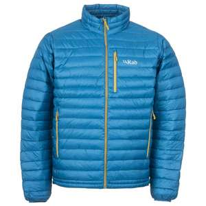 RAB Microlight Down jacket (2017) £83.98 delivered @ alpinetrek.co.uk, various colours/sizes