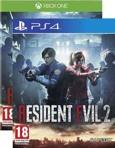 Resident Evil 2 Remake PS4/ XBOX ONE (RD 25.01.2019) £37.85 @ ShopTo