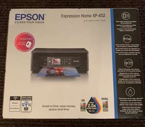 Epson Expression Home XP-452 Print / Copy / Scan - £13.50 in-store @ Tesco