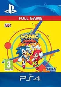 Sonic Mania PS4 £7.99 Download Code from Amazon UK
