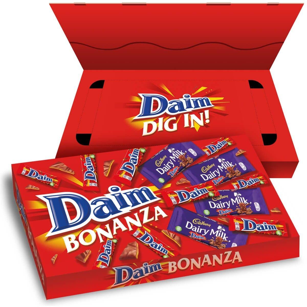 Daim selection box £4.50 + £3.95 del at Cadbury Gifts Direct