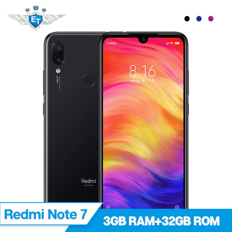 Original Xiaomi Redmi Note 7 3GB 32GB Snapdragon 660 Octa Core 48MP 13MP Camera 6.3''  Mobile Phone 4000mAh @ eternal team/aliexpress
