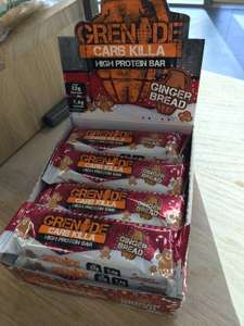 Gingerbread Grenade Bar - Only £1.25 @ M&S