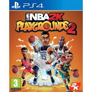 NBA Playgrounds 2 (PS4/Xbox One) £9.99 Delivered (or C&C) @ Smyths