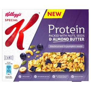 Kellogg's Special K Protein Bars (Pack of 4) - £1.50 @ Asda