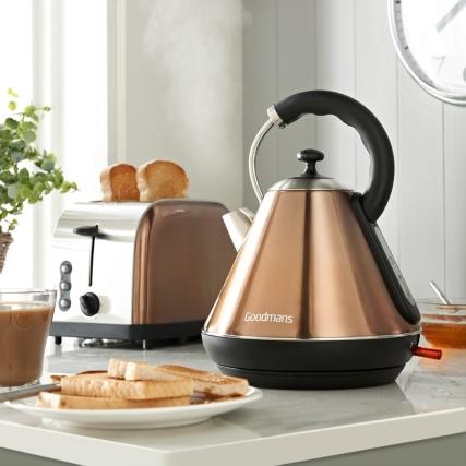 Goodmans Copper Kettle & Toaster Set £39.99 @ B&M
