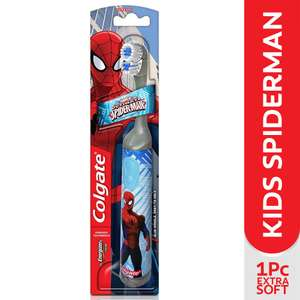 Colgate Spider-Man Kids Battery Powered Toothbrush @ Amazon - £3.50 (add on item) - £3.33 (S&S)