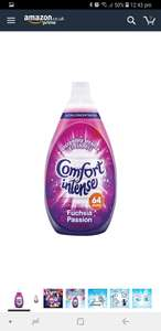Comfort ultra conditioner 64 wash £9.70 for 7 Free Delivery (£1.38!!) each Amazon pantry - Prime customer only