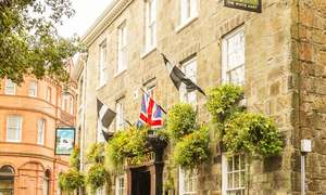 Cornwall: Up to 3 Nights for Two with Breakfast, Two-Course Dinner and Drink at The White Hart St Austell £139 @ Groupon
