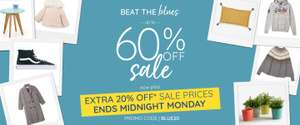Extra 20% off up to 60% Sale with Code @ La Redoute