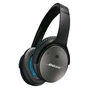 Bose QC25 QuietComfort Noise Cancelling Over - Ear Wired Headphones £104.90 delivered w/code @ Hughes