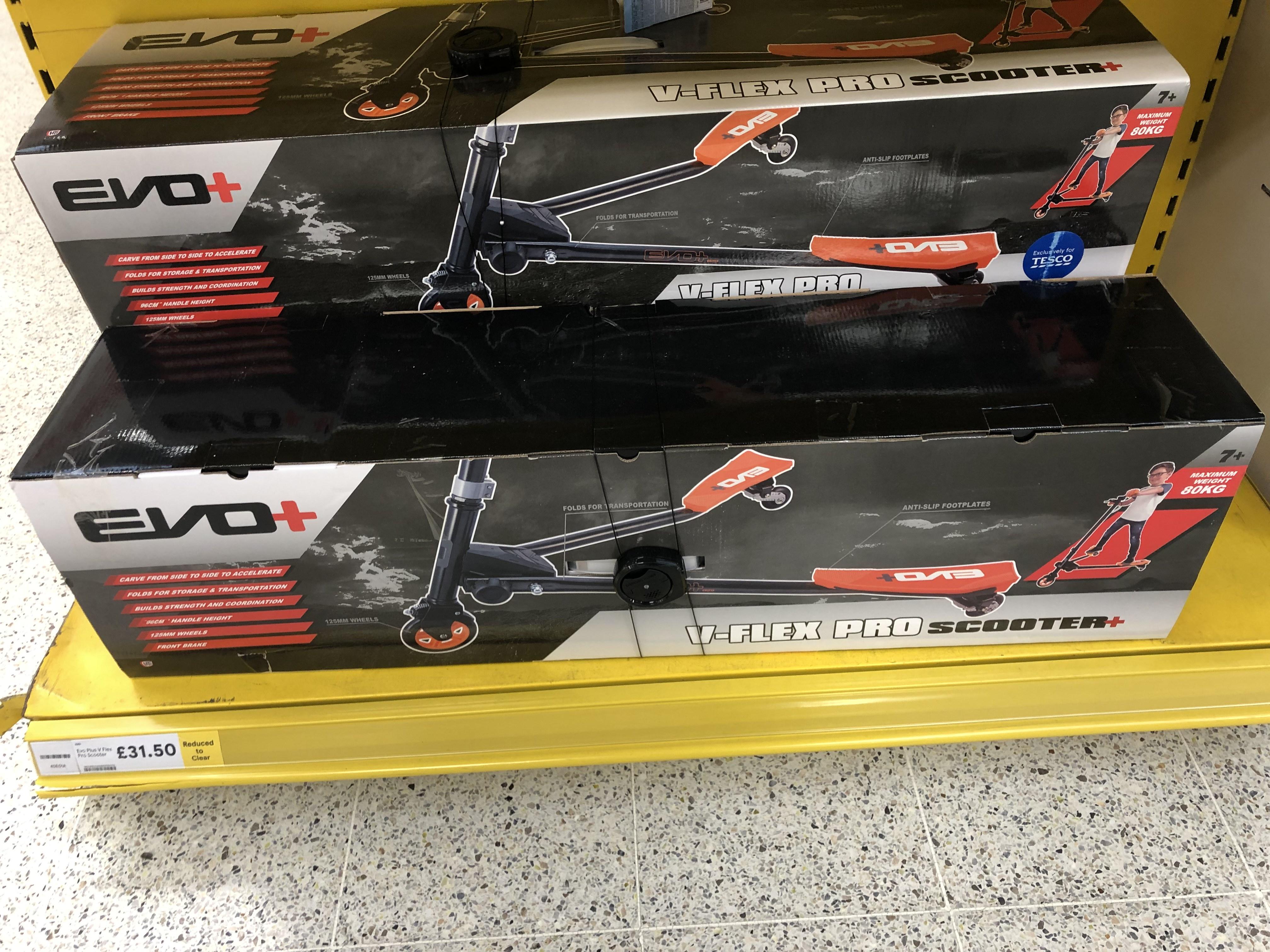 Evo+ V Flex Scooter £31 @ Tesco