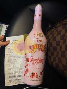Strawberries and cream limited edition baileys 700ml £8 @ Tesco in store