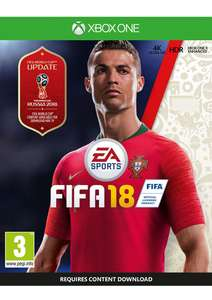 FIFA 18 on Xbox One for £2.99 delivered @ Simply Games