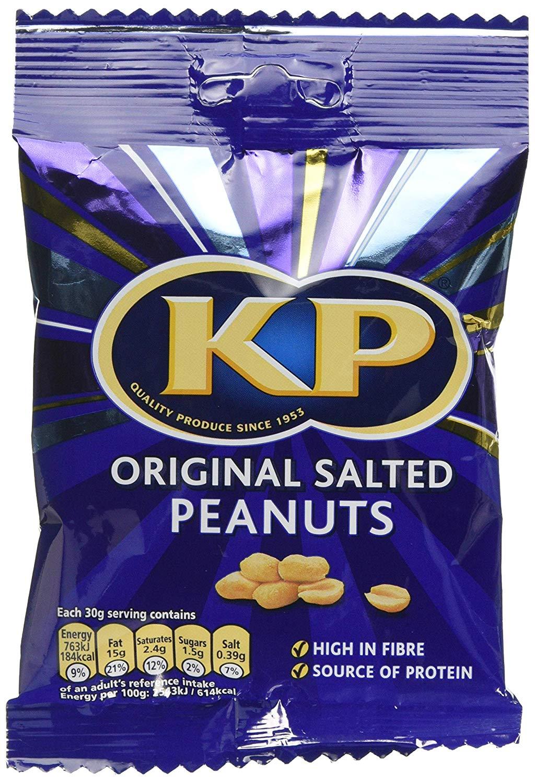 KP Original Salted Peanuts Cs 90 g (Pack of 18) @ Amazon £6.14 Prime £10.63 Non Prime