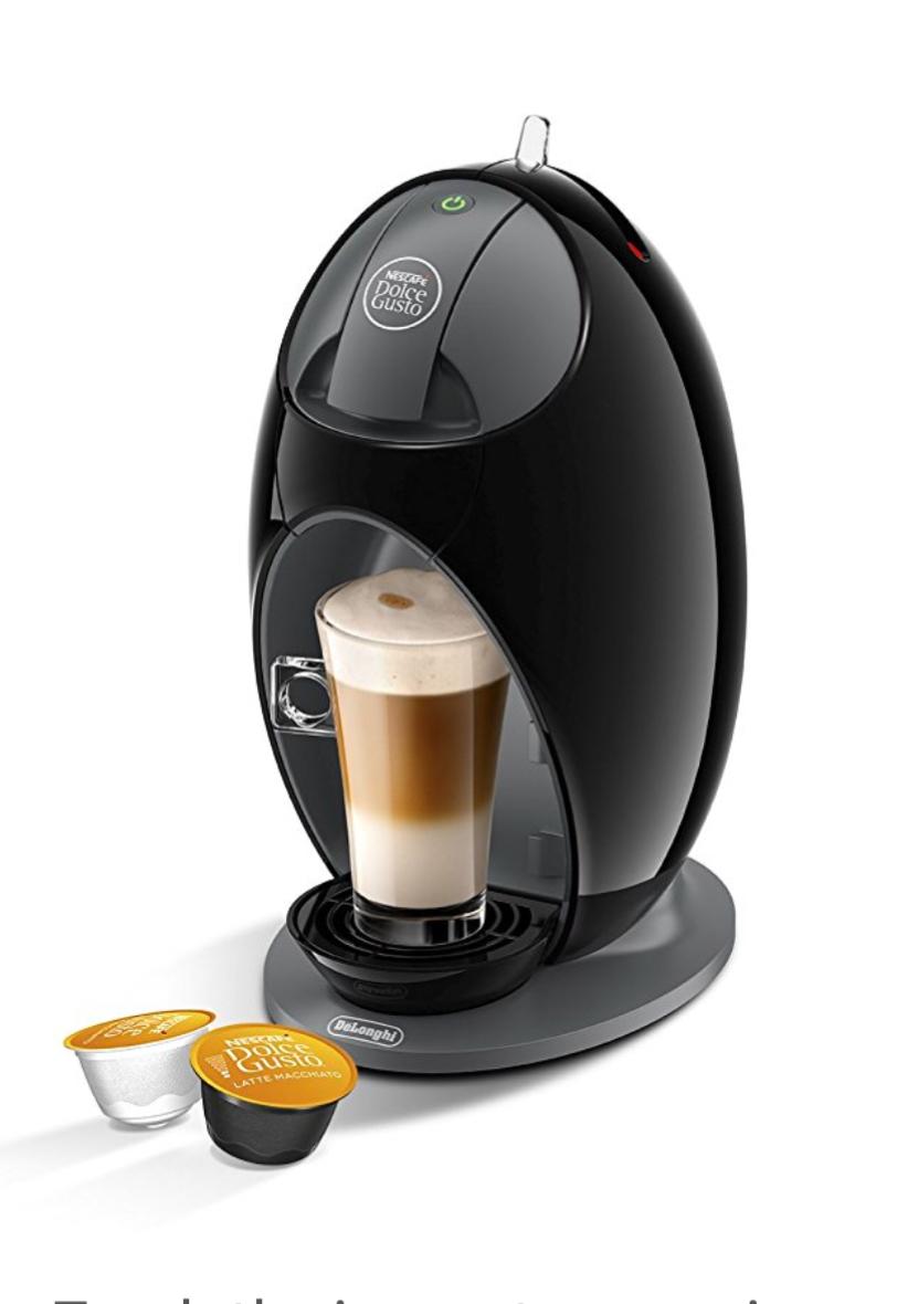 Nescafé Dolce Gusto Jovia by De'Longhi Coffee Machine - Black £28 @ Amazon / Currys