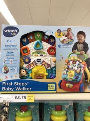VTech First Steps Baby Walker - £8.75 @ Tesco