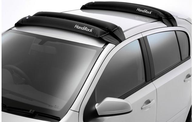 Handirack inflatable roof bars instore Halfords £35