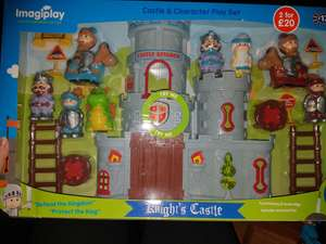 Knights castle playset £5 instore @ B&M