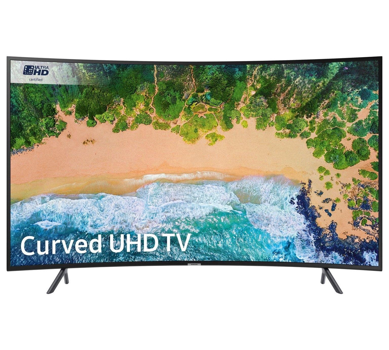Refurbished Samsung UE49NU7300KXXU 49 Inch Curved 4K Ultra HD HDR Smart WiFi LED TV, £344.99 at Argos/ebay