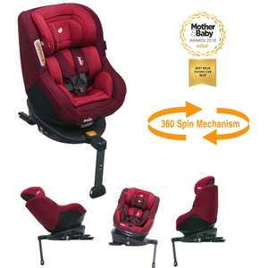 BACK IN STOCK IN BLACK - Joie Spin 360 0+/1 isofix child car seat £158.23 with code @ Boots