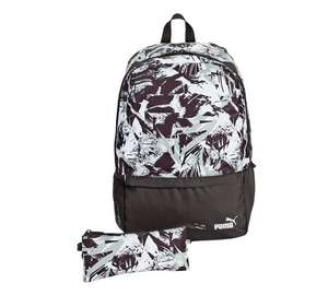 Puma Backpack and Pencil case - Black or Pink Was £24.99 Now £11.99  @ Argos free C&C