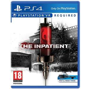 The Inpatient (Sony PS4/PSVR) for £14.99 Delivered @ Mymemory